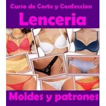 Patrones Imprimibles Lencería Intima Panties Femenina