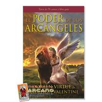El Poder De Los Arcangeles - 78 Cartas Y Libro En Español