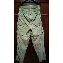 Pantalón Magellan Tipo Cargo, Convertible Bermuda Sportwear