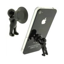 Soporte Para Celular Moderno Mini Iphone Android Ventosa