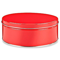 Caja Con 20 Latas Decorativas Para 1 Kilo 360 Gramos Rojo