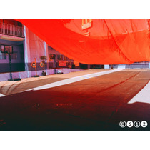 Malla Sombra Color Rojo Rollo Y Confección A La Medida