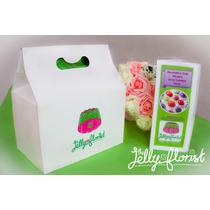 Kit Gelatina Artística Girasol Con Recetario Jelly Florist