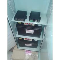 Kit Poe - Gabinete + 2 Baterias +hub 5 Puertos + Controlador