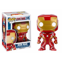 Iron Man Funko Pop Civil War Ironman Capitan America Pantera