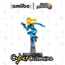 Amiibo Zero Suit Samus Japones Orginal Nintendo En Mano!
