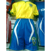Uniforme Brasil Playera Short Y Medias