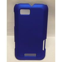 Protector Funda Motorola Defy Mini Xt320 Azul