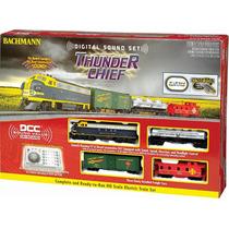 Tren Electrico Ho Dcc Digital Sonidos Thunder Chief Bachmann