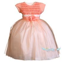 Hemoso Vestido Fiesta Niña Elegante Exclusivo Pajesita 16-94
