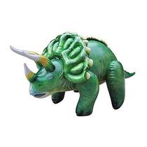 Los Dinosaurios Del Jurásico Inflables 43 Triceratops Larga