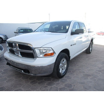 Dodge Ram Crew Cab 2500, A/c, Color Blanco, Modelo 2012