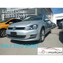 Volkswagen Golf Paq Sport 2015 Ofertaaa¡¡