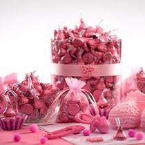 Besos Chocolate Con Leche Rosa Foils 66,7 Onza