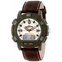 Reloj Timex® Expedition Double Shock T49969 Correa Piel :)
