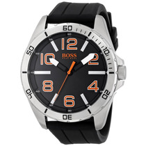 Boss Orange 1512943 Big Time Reloj Negro Con Movimiento Cua