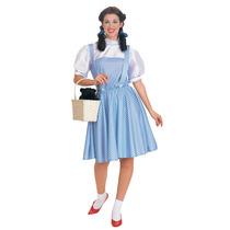 Mago De Oz Disfraz - Señoras Dorothy Vestido De Lujo