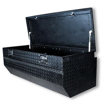 Caja De Herramientas 60 Tipo Baul Mitsubishi Color Negro