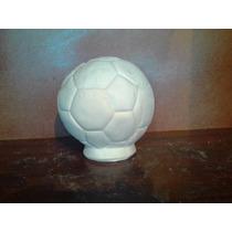 Alcancia Balon Futbol.soccer Chico,yeso Ceramico Para Pintar