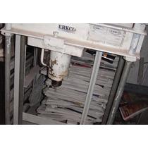 Prensa Hidraulica Funcionando 20 Toneladas