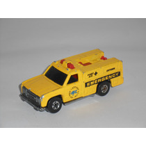 Hot Wheels Antiguo Vehiculo De Emergencia 1980