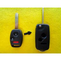 Carcasa Llave Control Modificacion Honda 2 Botones + Panico
