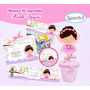 Kit Imprimible Hadita Baby Shower Fiesta Bautizo Cumplea #2