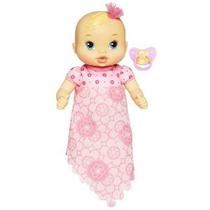 Baby Alive Luv N Snuggle Baby Doll Rubio Con Una Manta