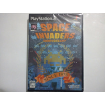 Space Invaders Anniversary Ps2 Play Station 2 *nuevo*