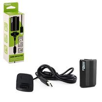 Kit Carga Y Juega Control Xbox 360 Bateria Y Cable Usb Kmd