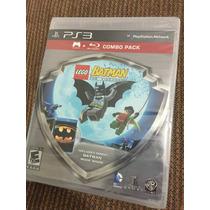 Lego Batman Videogame + Blu-ray Película Batman Burton Ps3
