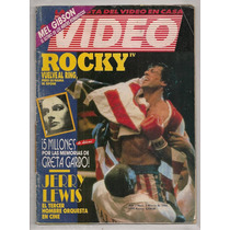 Revista Mexicana Video Cine Rocky 4 Stallone 1986