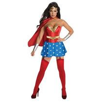 Wonder Woman Costume - Corsé De Las Señoras Xs Superhéroe