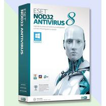 Eset Nod32 Antivirus 8 - 1 Año 20 Computadoras - Facturamos
