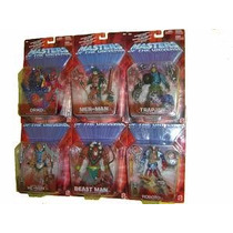 Masters Of The Universe 6 Fig. Serie 4 Roboto, Beast Man, Et