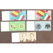Rel. Diplomaticas México España Bandera Escudo Mapas 1977