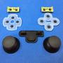 Ps3 Control 2 Tapas Botones Joystick Playstation 3 Gomas