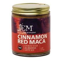 Jem Raw Vegan Orgánica Canela Rojo Maca Almond Butter Spread
