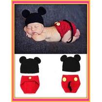 Set A Crochet Mickey Mouse