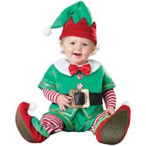 Disfraz De Duende De Santa Claus Para Bebes, Envio Gratis