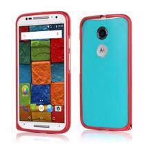 Moto X Motorola 2da Generación Bumper Aluminio Funda