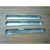 Jgo.(3) Piezas Rejillas Cromadas Cofre D21 Americana 86-94