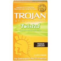 Las Estimulaciones Troyano Condón Lubricado Twisted Pleasure