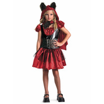 Disfraz Talla 4 A 6 Años Niña Caperucita Roja