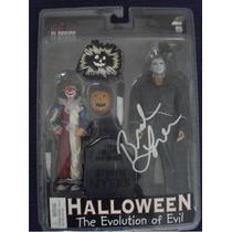 Halloween / Michael Myers Evolution Of Evil Autografiado