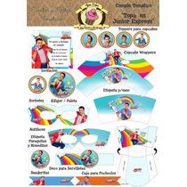 Super Kit Imprimible Cumple Tematico Topa En Junior Express