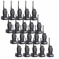 Set Kit 20 Radios Baofeng Bf-888s Walkie Talkie Dos Vias Fm