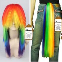 Disfraz Peluca Rainbowdash