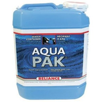 Reliance Productos Aqua-pak 2.5 Galones De Agua Del Envase R