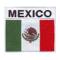Mexico Badge Escudo B Parches Bordados Banderas Mundial